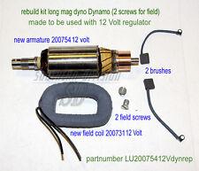 LUCAS E3LM Dynamo rebuild kit Mag Dyno 12 VOLT BSA Norton Triumph Enfield