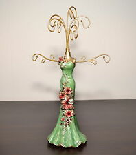 Beautiful Mannequin Jewellery Stand / Tree Display Necklace Holder hand green