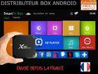 X96 Mini 4k UHD Android 7.1.2 Lecteur Multimédia de Diffusion 1GB/8GB - Noir
