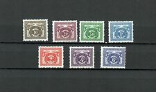 Belgish Congo Africa Belgium Colonies Postage Due Mh Set Stamp Lot (Belg 85)