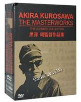 NEW AKIRA KUROSAWA The Masterworks 15DVD The Ultimate Collection English Subs