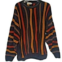 Vintage Norm Thompson Escape Ordinary Coogi Style Sweater Men XXL Made in USA