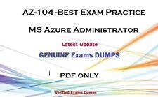 Latest AZ-104  MS Azure Administrator Exam dumps QA