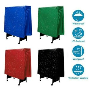 1pcs New  Table Tennis Ping Pong Table Cover Waterproof Dustproof 165x70x185cm