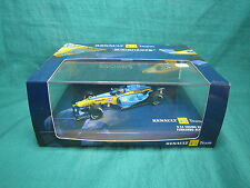 DV6435 MINICHAMPS RENAULT F1 R24 ENGINE RS 24 #8 F. ALONSO 2004 1/43 NB
