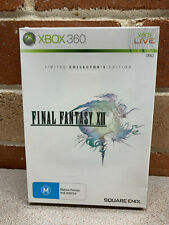 Final Fantasy XIII 13 Limited Collector's Edition Xbox 360 AUS NEW SEALED