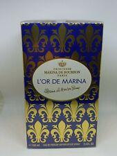 L'or de Marina by Marina De Bourbon EDP Spray 3.4 oz 100 ml NIB For Women