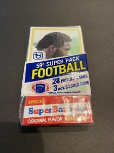 1980 TOPPS UNOPENED FOOTBALL SUPER CELLO #277 CHARLIE JOHNSON EAGLES TOP CARD