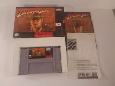 Indiana Jones' Greatest Adventures Super Nintendo SNES 1994 CIB Complete Tested
