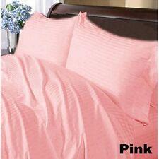 Extra Deep PKT 4 pc Sheet Set 1000 TC Egyptian Cotton All Striped Colors & Sizes
