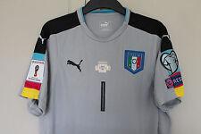 ITALY GOALKEEPERS JERSEY SHIRT BUFFON WORLD CUP ITALY Vs ALBANIA 2017 JUVENTUS
