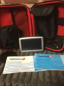 """TomTom XL 4.3"""" Touch Screen Automotive Mountable GPS Bundle Works"""