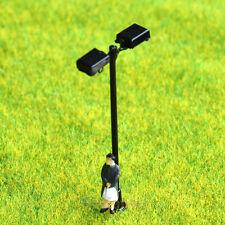 On Sale 5 x OO / HO scale Model train Lamp posts 12V street light Lamps #048