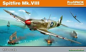 1/72 EDUARD 70128; Supermarine Spitfire Mk.VIII RAAF Grey Nurse, RAF & USAAF
