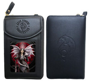 Stunning Anne Stokes 3D Purse and Phone Holder - Valour - Dragon