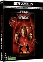 STAR WARS  EP 3 LA REVANCHE DES SITH BLU RAY 4K ULTRA HD  NEUF SOUS CELLOPHANE