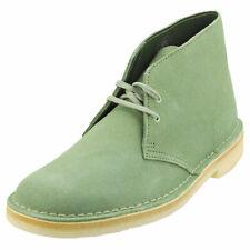 Clarks Originals Desert Boot Mens Cactus Green Suede Desert Boots