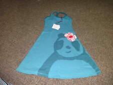 BOUTIQUE ZOLIMA 4Y 4 BLUE PANDA DRESS