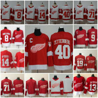 New Detroit Red Wings 9 Gordie Howe Pavel Datsyuk 14 Nyquist 19 Yzerman  Jersey