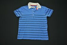 Faded Gant Michael Bastian Polo Shirt Blue Men's Medium M Exploration Galapagos