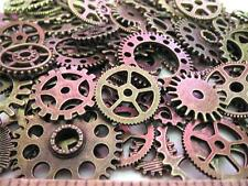 "40g 1"" to 3/8"" Gears Brass Lot New Steampunk Watch Parts Clock Wheels =26+-"