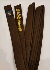 Kyokushinkai Karate Gürtel Braun Grün