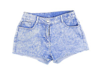 Womens Candy Couture Blue Denim Shorts Size W26/