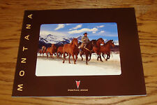 Original 2002 Pontiac Montana Deluxe Sales Brochure 02 Versatrak