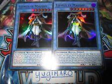 Yu-Gi-Oh!  Rituel de Litmus le Maudit BLRR-FR014 ULTRA/RARE VF le lots de 2