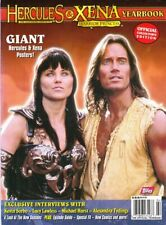 XENA & HERCULES COVER - OFFICIAL YEARBOOK COLLECTOR EDITION - GIANT POSTERS