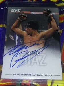 2012 Topps UFC Knockout Nate Diaz On Card Autograph 36/99 FA-ND * Stockton 209 *