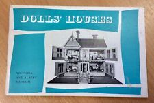 Dolls Houses - Victoria And Albert Museum Booklet 1968