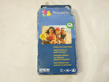 Epson PictureMate Print Pack Inkjet Cartridge with 100 Photo Paper Sheets