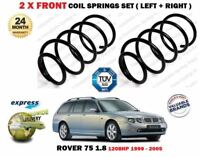FOR ROVER 75 1.8 + TOURER 120BHP 1999-2005 NEW 2X FRONT COIL SPRINGS SET