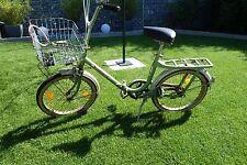 Klappfahrrad 70er Oldtimer Vintage Heidemann Einbeck Grün original HWE