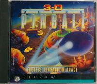 3-D Ultra Pinball: Fastest Pinball in Space (PC Windows 95 / Mac, 1995) CD-ROM