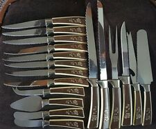 Lifetime Cutlery Knives Vintage Stainless Steel knifes, set of 18