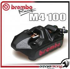 Pinza sinistra Radiale Nera Brembo Monoblocco Fusa M4 100 INT 100mm SX+past