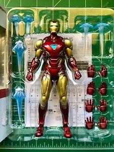 SH Figuarts Iron Man Mark Mk85 Avengers Endgame Authentic Bandai Tamashii