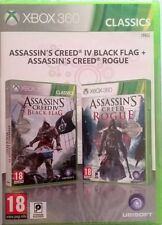 Assassin's Creed Rogue + Black Flag Doble Pack Xbox 360 PAL