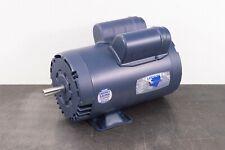 Leeson 11127500 Electric Motor 5 Hp 3450 Rpm 1ph 230 Volt 56y Frame
