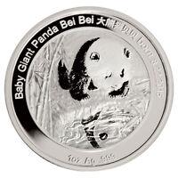 2016 China 1 Troy Oz .999 Proof Silver Smithsonian Panda Bei Bei SKU40822