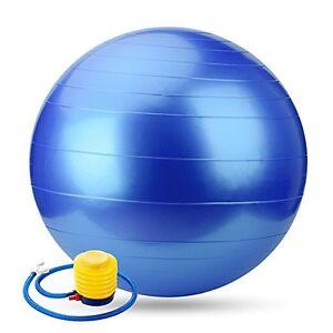 Pilates and Balance Training Anti-burst & Slip Exercise Yoga Ball
