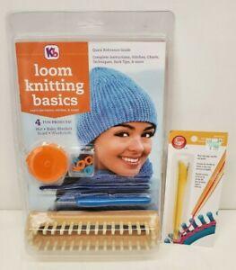 Kb Loom Knitting Basics Kit KB4518 & Boye Loom Pen Tool 3702005001