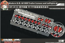 Voyager BR35100 1/35Modern U.S. M1000 Trailer Lenses and taillights(For HB85502)