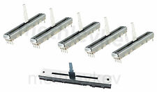 5 x Fader & 1 x Cross-Fader kit si adatta Pioneer DJM600 o DJM500 DCV1010 DCV1006