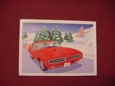 PONTIAC GTO THE JUDGE CHRISTMAS CARDS--GEETO TIGER V8 TATTOO GOAT RAM AIR VLV