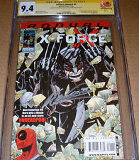 X-Force Annual #1 CGC SS SIGNED Stan Lee Rob Liefeld Marvel Wolverine Deadpool