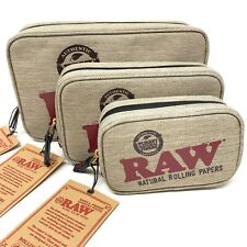 More details for raw smell proof zip bag smokers odour protection pouch - 3 sizes