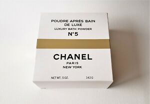 CHANEL No 5 Poudre Apres Bain de Luxe / Luxury Bath Powder (5 oz/142g) Vintage